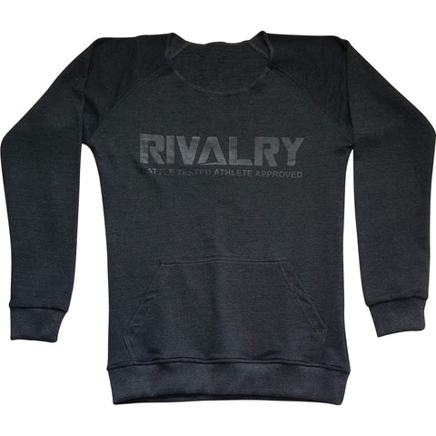 Ladies Blackout Sweatshirt - RivalrySportsMarketing