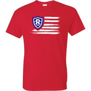 Rally Flag T-Shirt - RivalrySportsMarketing