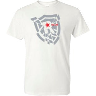 Shattered Shield T-Shirt - RivalrySportsMarketing