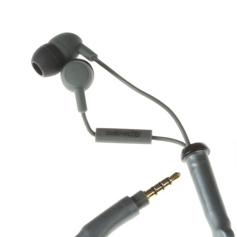 Tangle Free Earbuds with Microphone