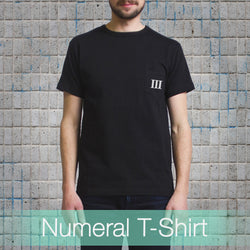 Numeral Pocket T-Shirt