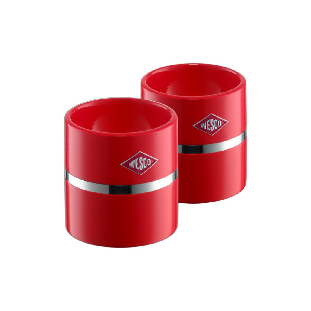 Egg Cup Set of 2 - Red - Wesco US