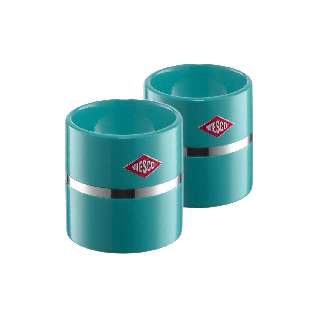 Egg Cup Set of 2 -Turquoise - Wesco US