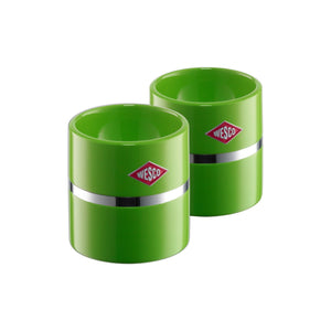 Egg Cup Set of 2 -Lime Green - Wesco US