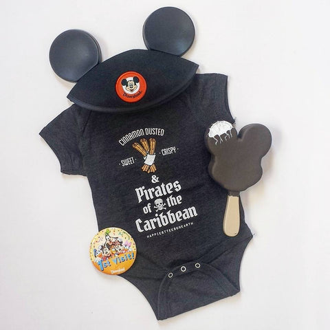 Churros & Pirates - Infant Onesie