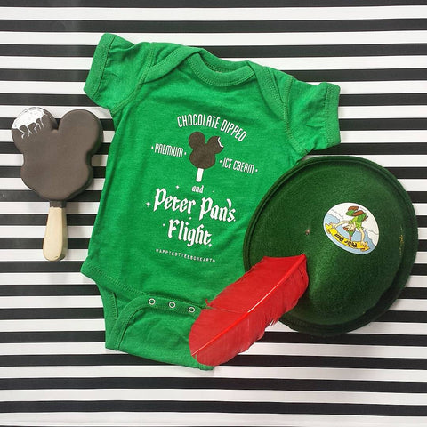 Mickey Bars & Peter Pan - Infant Onesie