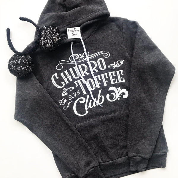 Churro Toffee Club - Hoodie - Black Heather