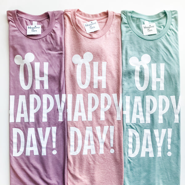 Oh Happy Day! - Spring #1 - Tee