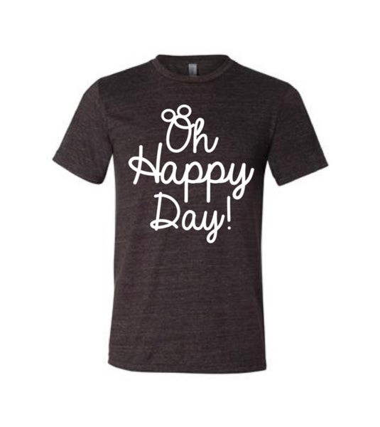 Oh Happy Day - Script Tee
