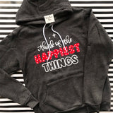 Think of the Happiest Things - Cozy Hoodie