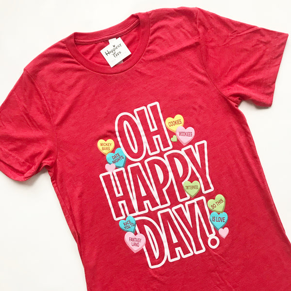 Oh Happy Day - Valentines edition - Tee