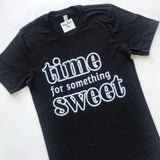 Time for Something Sweet - Black Heather
