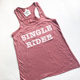 Single Rider - Flowy Tank - Mauve