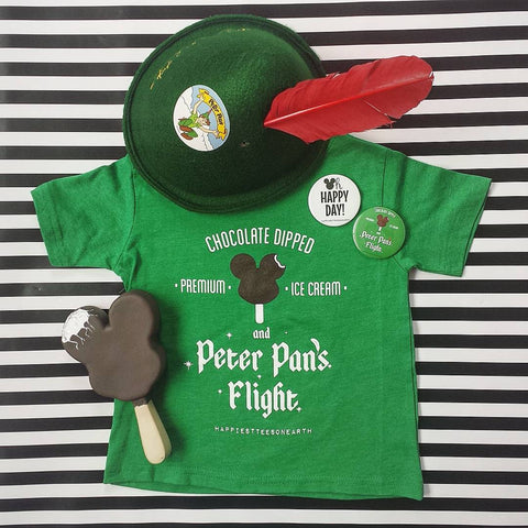 Mickey Bars & Peter Pan's Flight - Toddler Tee