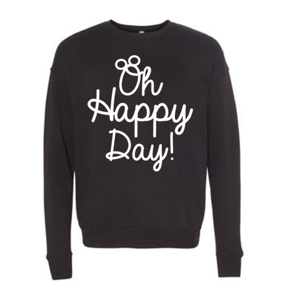 Oh Happy Day!: Script edition - Cozy Crewneck