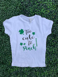 Too Cute To Pinch Toddler T