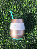 Rose Gold 14 oz. Stemless Wine Cup