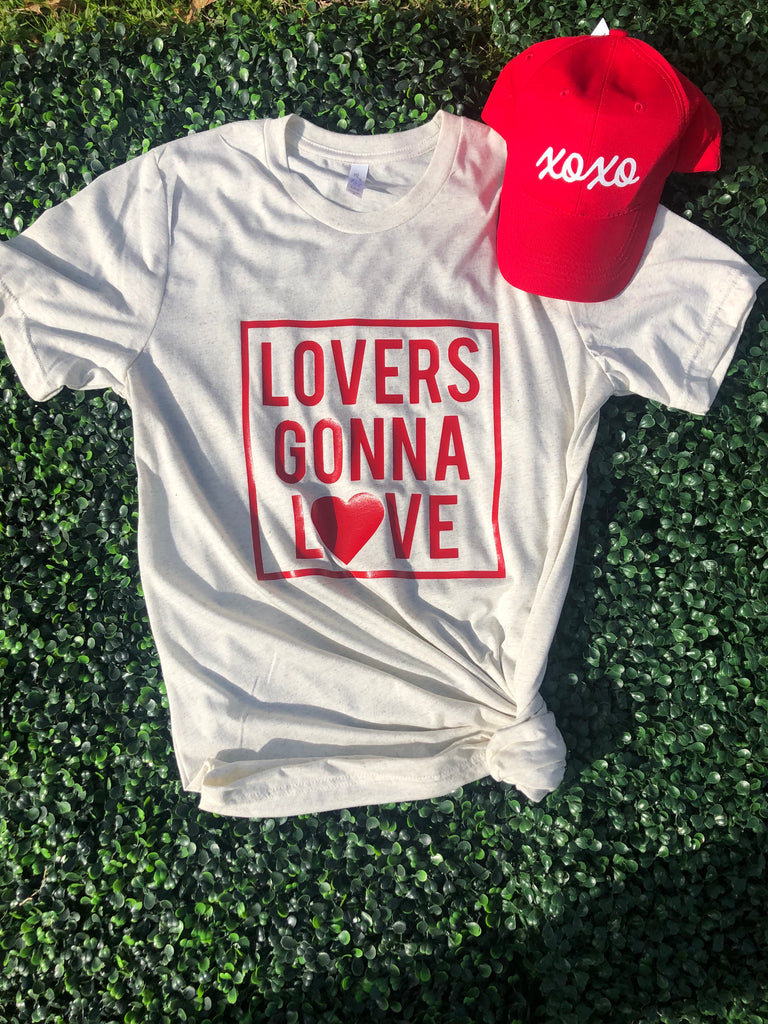 Lovers Gonna Love White T
