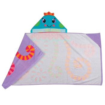 Jellyfish Kids' Hooded Towel