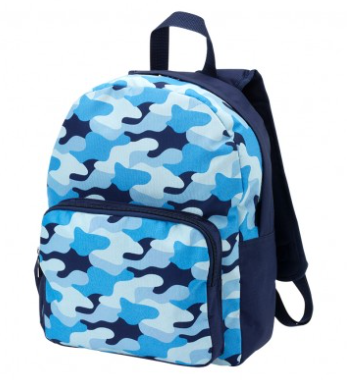 Cool Camo Pre School Backpack