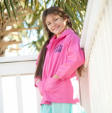 Kids' Hot Pink Rain Jacket