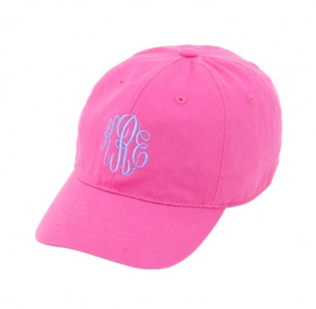 Kids' Hot Pink Baseball Cap
