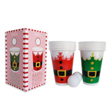 Packed Party Santa Party Pong Set