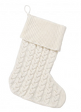 Creme Knit Stocking