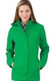 Women's Logan Jacket- Kelly Green