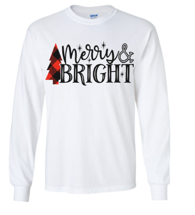 Christmas Merry and Bright T