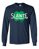 Slainte O'Race Cotton Shirt - Navy