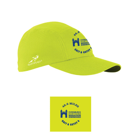 Grit & Gutsy 4 Neon Yellow Hat