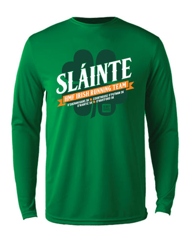 Slainte O'Race Technical Shirt - Green
