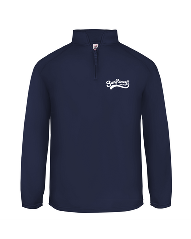 Surftown Men's Navy Quarter Zip