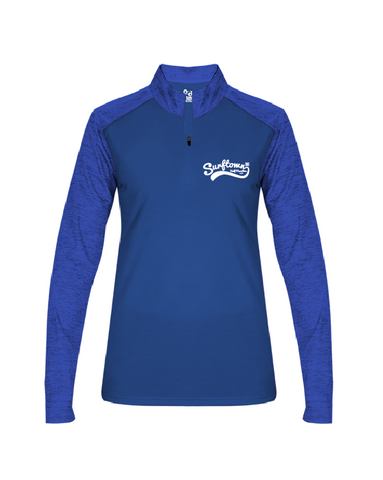 Women's Surftown Royal Quarter Zip