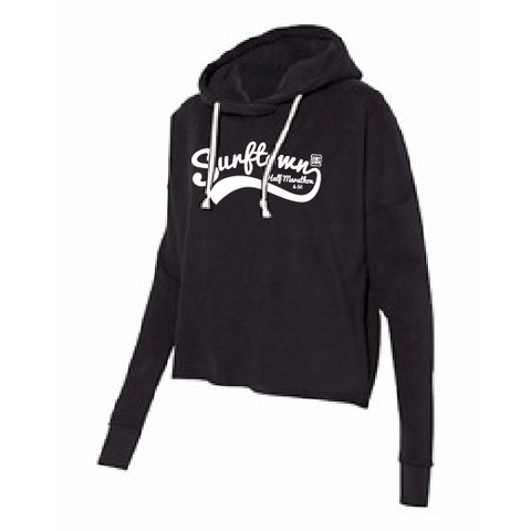 Surftown Women's Black Lounge Hoodie