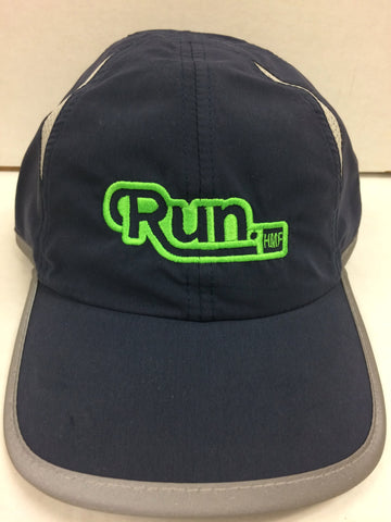 Navy Run Hat