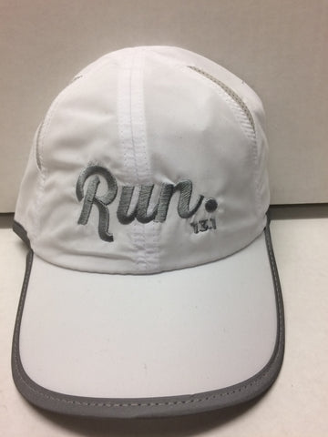 Run 13.1 Hat - White