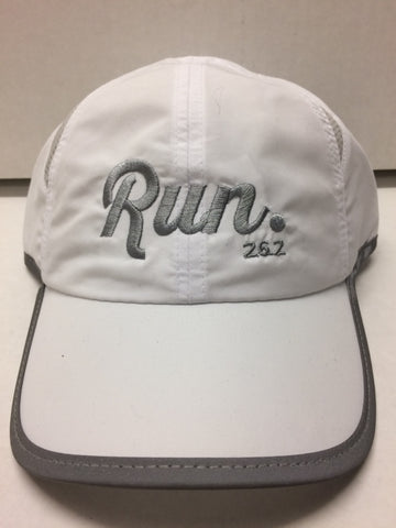 Run 26.2 Hat - White