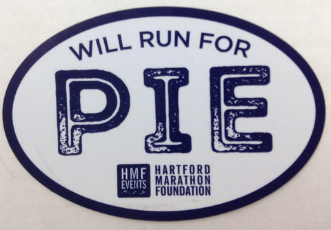 Will Run For Pie Magnet