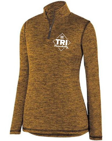 Tri Remarkably Gold Quarter Zip