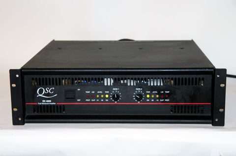 QSC EX-4000 1600-Watt Stereo Power Amplifier