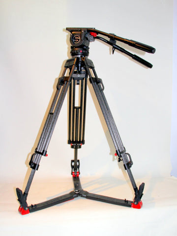 Sachtler SpeedLock Carbon Fiber Tripod System with P18 Head and Spreader
