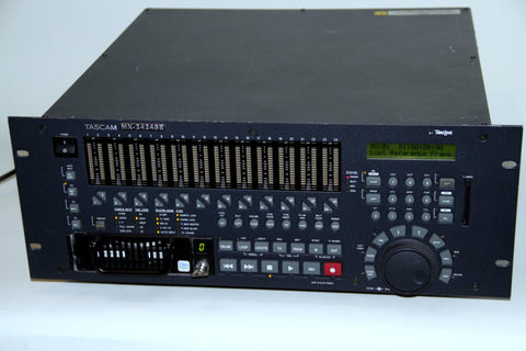 Tascam MX2424 Professional 24 Bit 24-Track Hard Disk Recorder - Including Analog Expansion Board