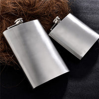 Stainless Steel Hip Flask (5 6 7 8 10 12oz)
