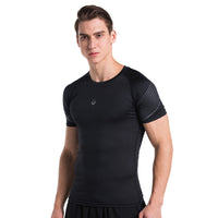 Men Compression Shirt Running Fitness