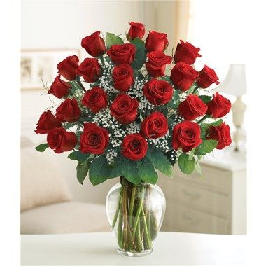 Valentine The Blooming Masterpiece Rose Bouquet (Two Dozen Roses)