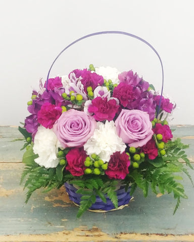Purple Delights Basket