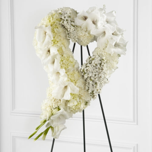 Hearts Eternal Easel Wreath