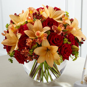Arrangement - The Lily & Rose Arrangement J-W49-4744